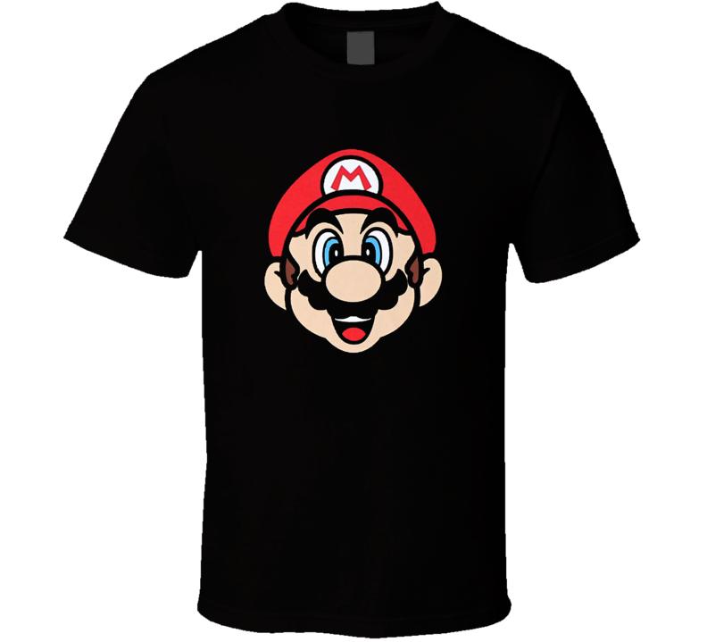Mario Face - Nintendo Youth T Shirt