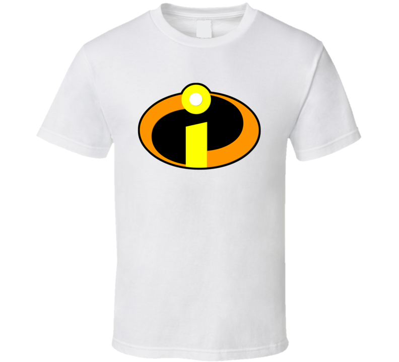 The Incredibles Logo White T Shirt