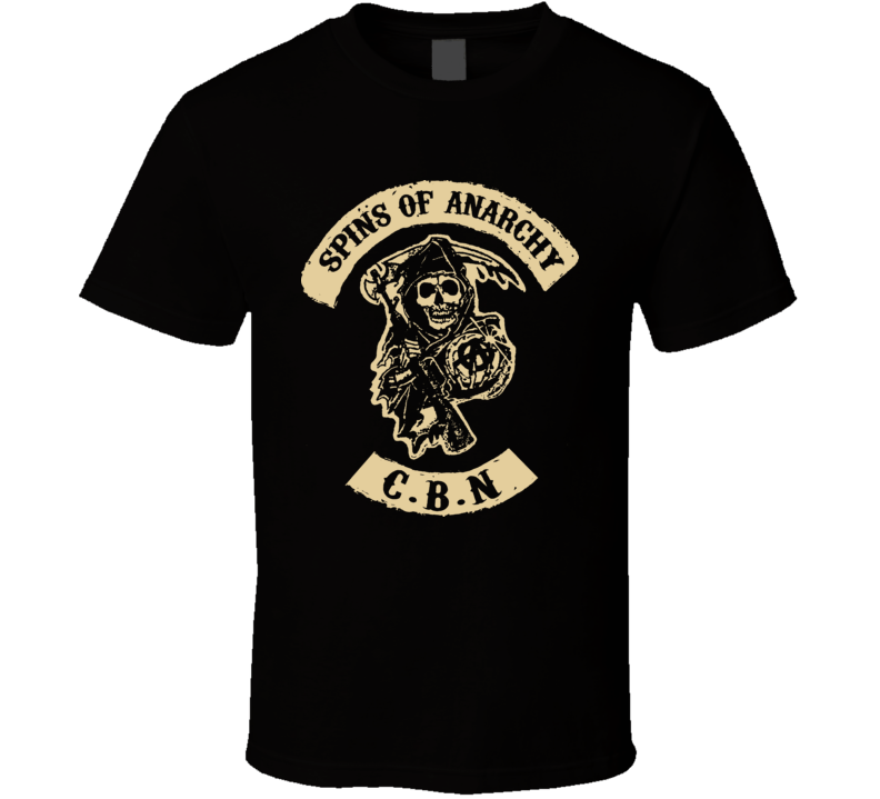 Spins Of Anarchy Back T Shirt