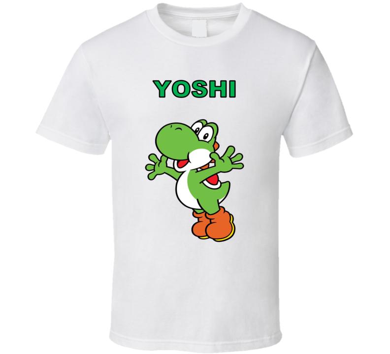 Super Mario Yoshi Nintendo White T Shirt