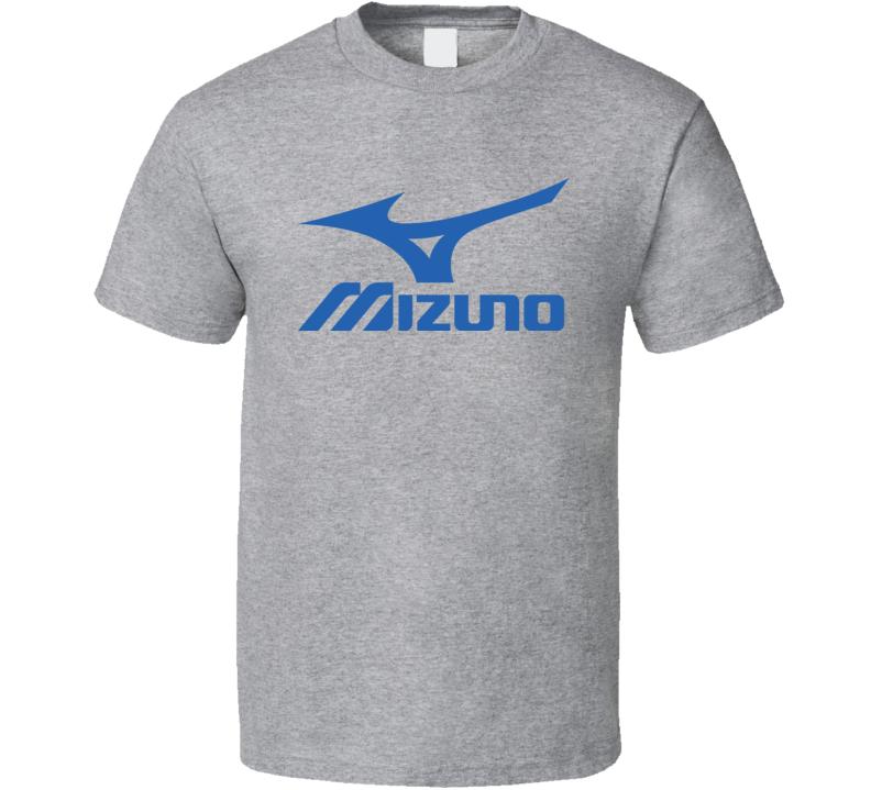 Mizuno Golf Golfing Blue Lettering T Shirt