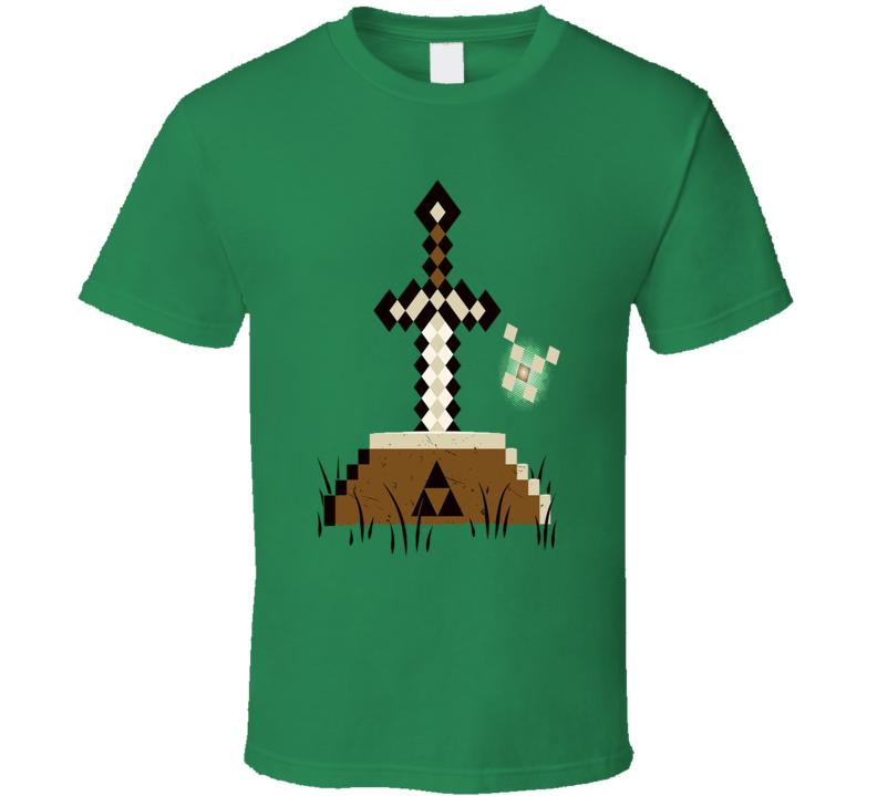 Minecraft & Zelda T Shirt