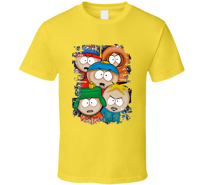 South Park Angry Kids Daisy T Shirt