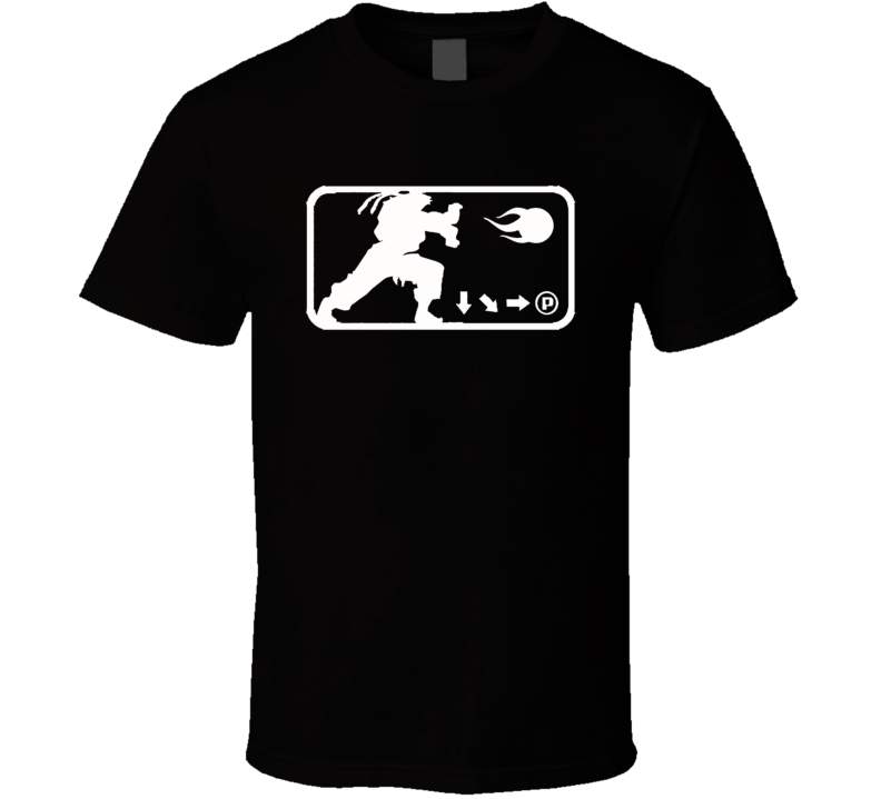 Ryu Street Fighter Hadoken Fireball Capcom T Shirt