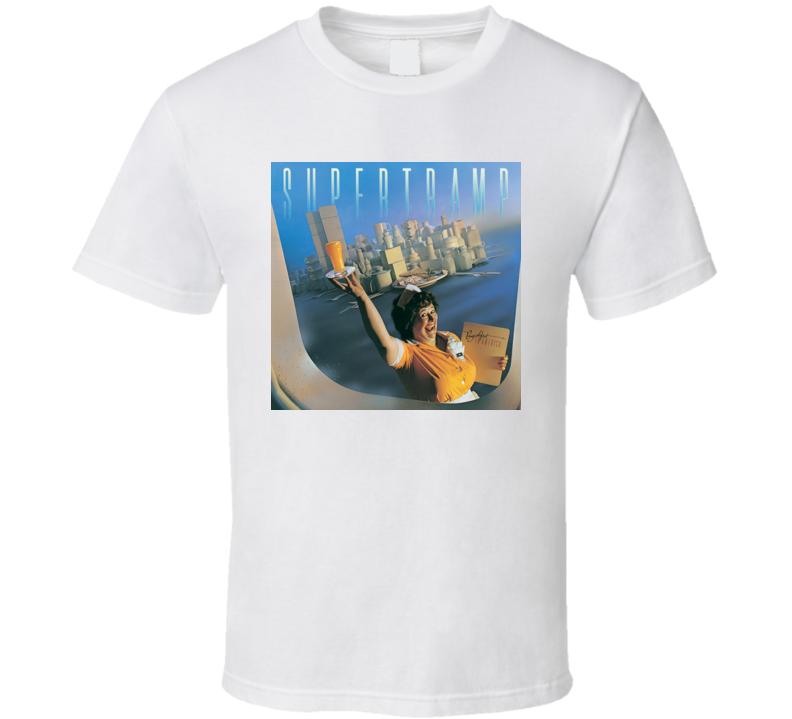 Supertramp Breakfast In America Classic Rock Band T Shirt