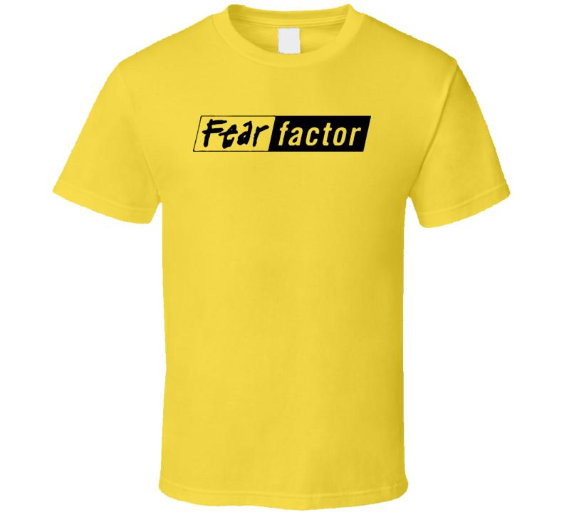 Fear Factor Logo Tv T Shirt