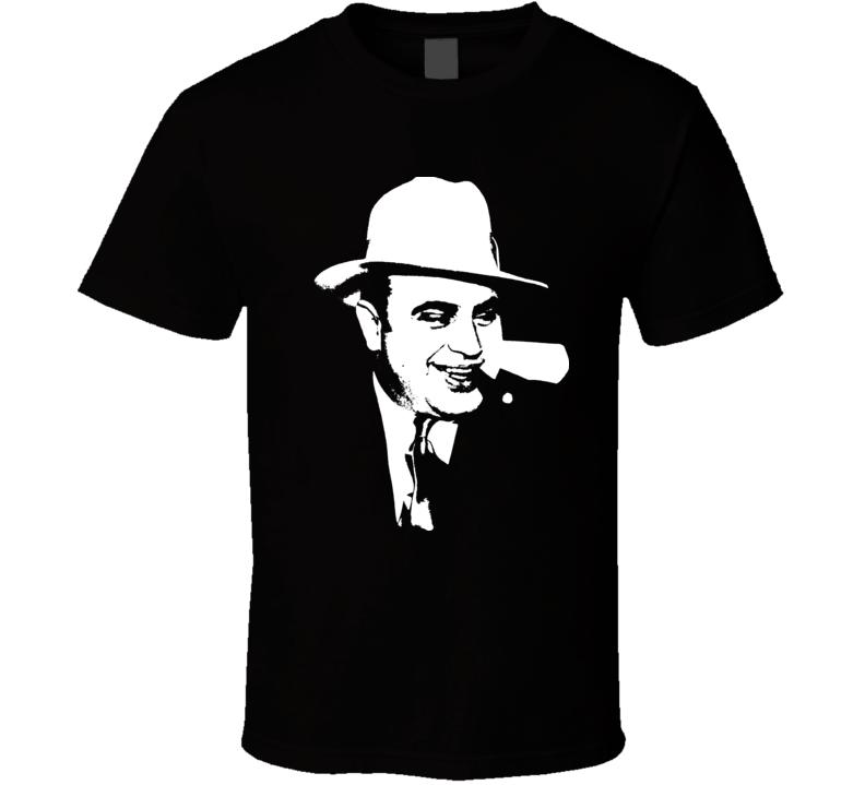 Al Capone Vintage Mobster T Shirt