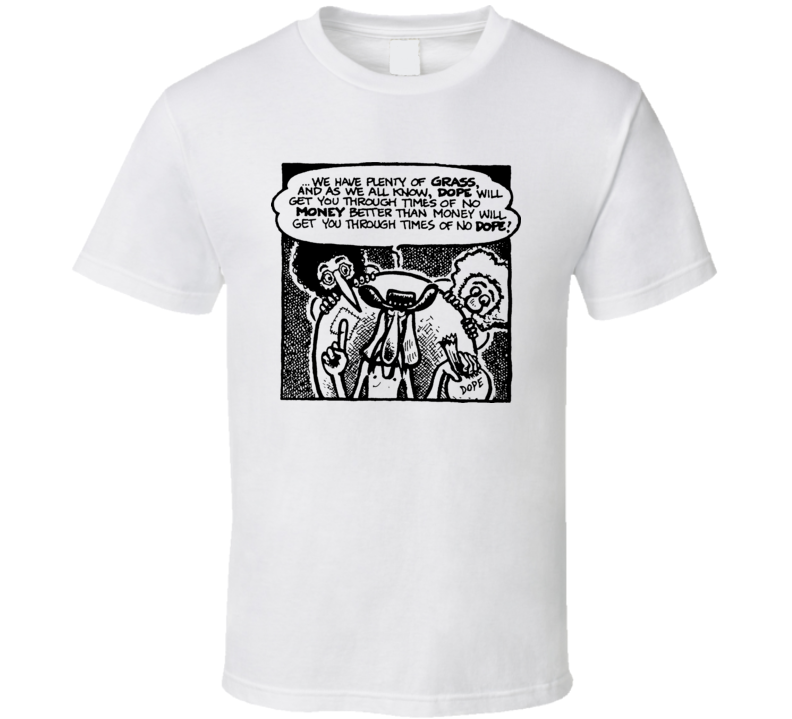 Freak Bros Drugs Panel Comic Book T Shirt