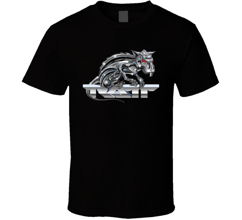 Ratt Music Group Logo Album 80S T Shirt