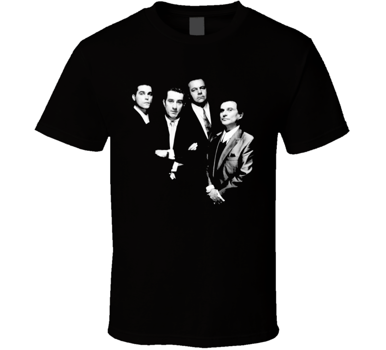 Goodfellas Classic Gangster De Niro Movie T Shirt
