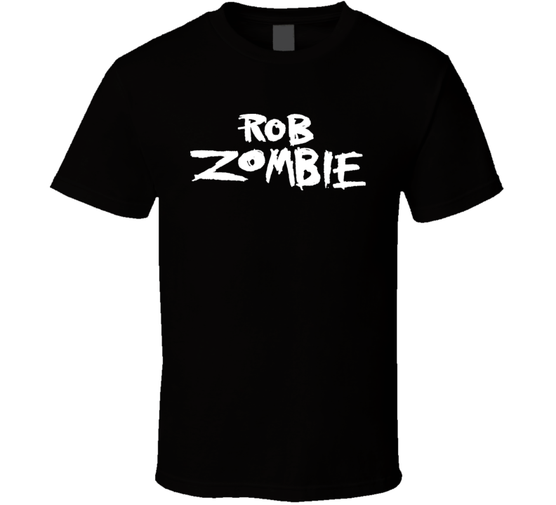 Rob Zombie Text Logo Music Movie Director T Shirt