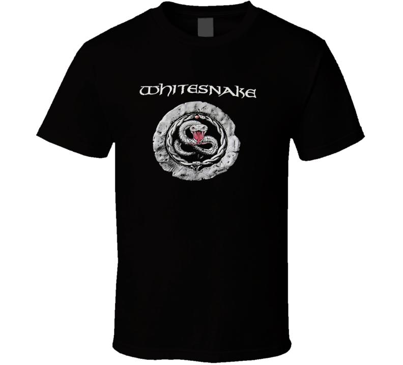 Whitesnake Logo 80S Rock Band T Shirt