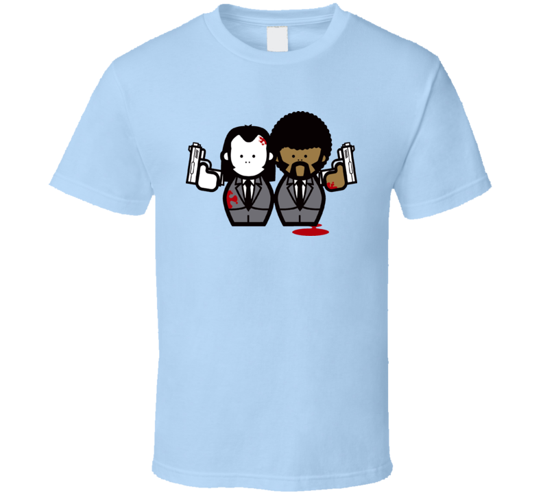 Pulp Fiction Vincent And Jules Cartoon T Shirt