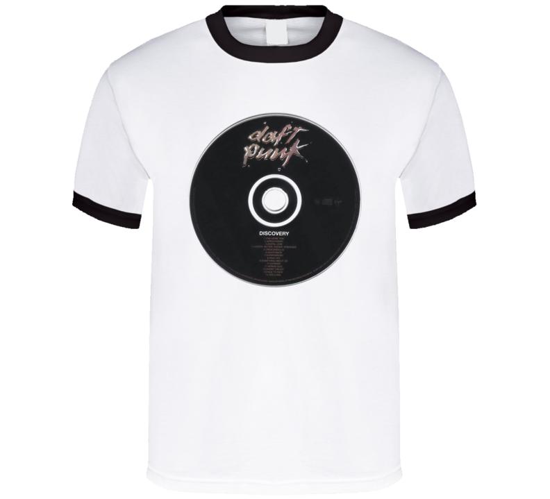 Daft Punk Discovery Cd T Shirt