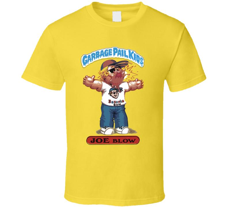 Garbage Pail Kids Joe Blow T Shirt