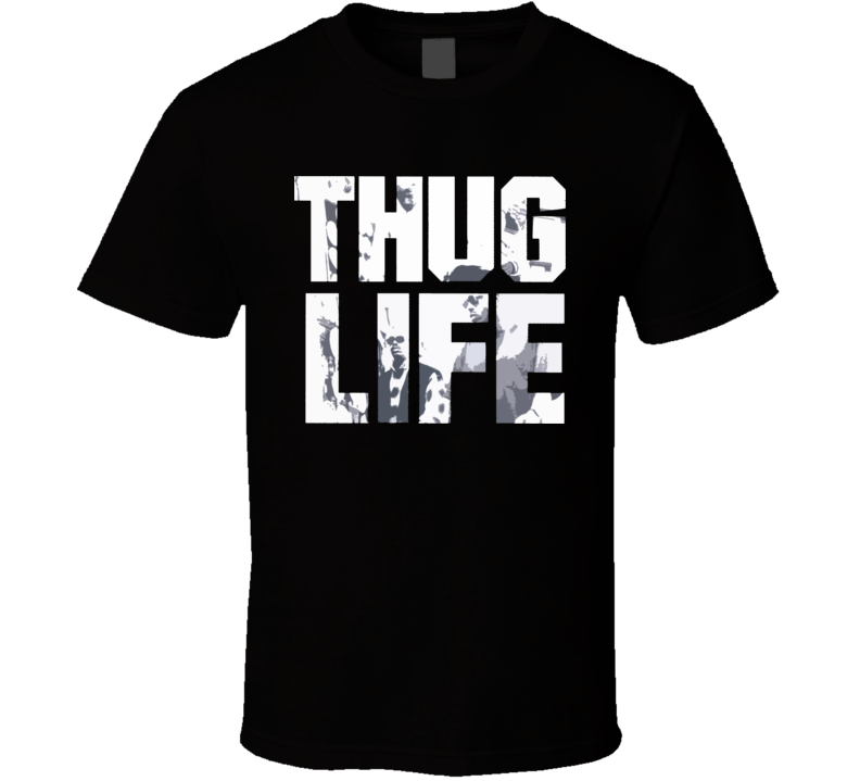 Thug Life Tupic Album T Shirt
