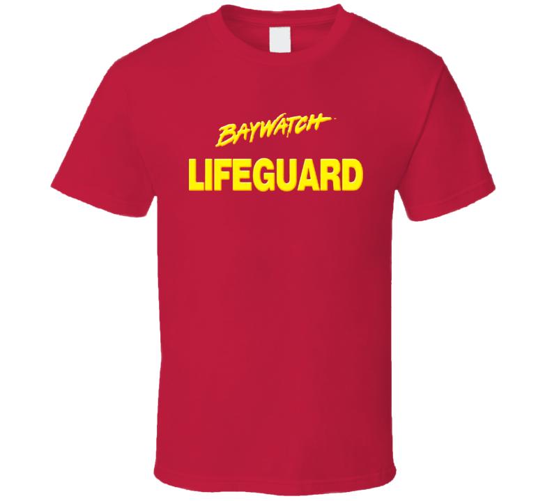 Baywatch Lifeguard Tv Show T Shirt