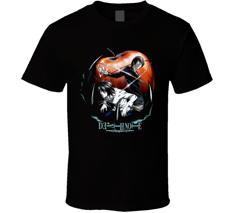 Death Note Apple Anime T Shirt