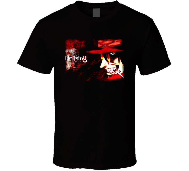 Hellsing Alucard Anime T Shirt