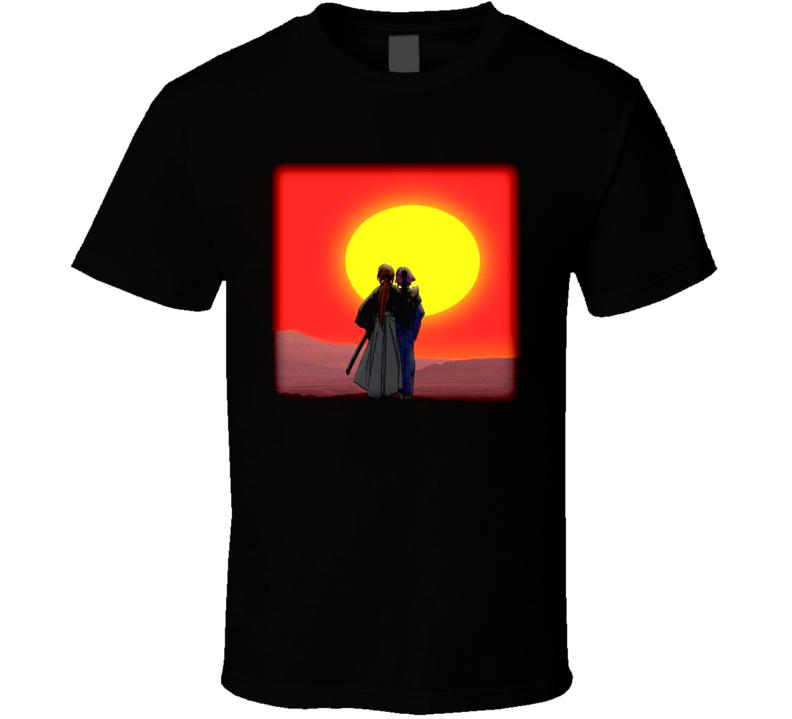 Rurouni Kenshin Anime T Shirt
