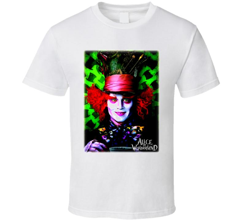 Alice In Wonderland 2010 T Shirt