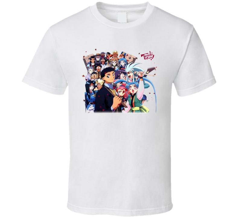 Tenchi Muyo Gxp Anime T Shirt