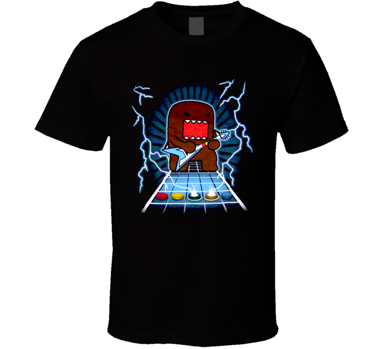 Domo Kun Guitar Hero T Shirt