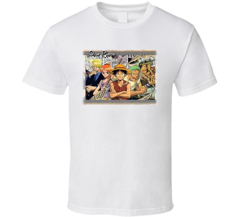 One Piece Anime T Shirt