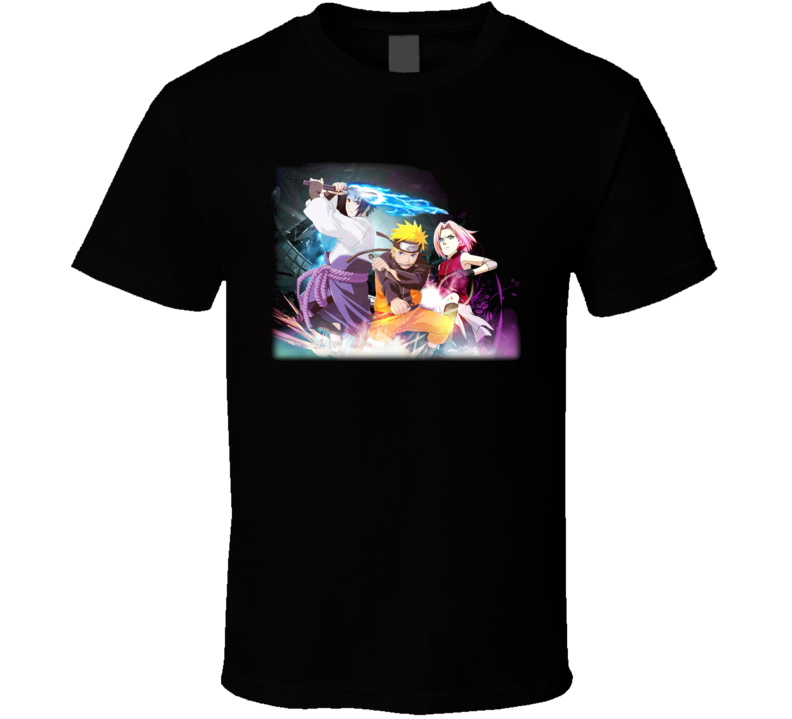 Naruto Group Anime T Shirt
