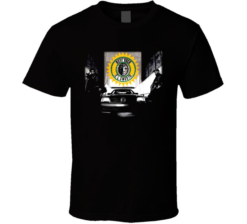 Pete Rock & Cl Smooth Hip Hop Mecca Vintage T Shirt