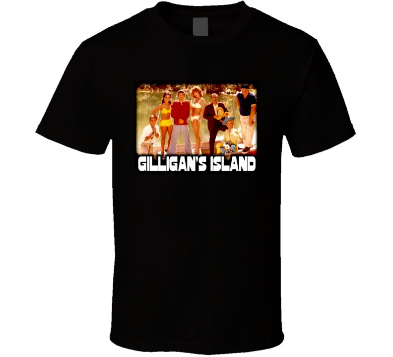 Gilligan'S Island Tv Series Cast Vintage T Shirt