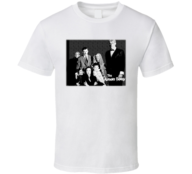 The Addams Family Vintage Tv Series T Shirt