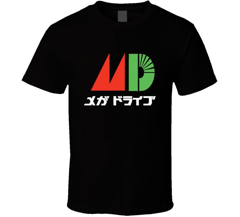 SEGA Japanese Mega Drive Genesis Colour Vinyl T Shirt