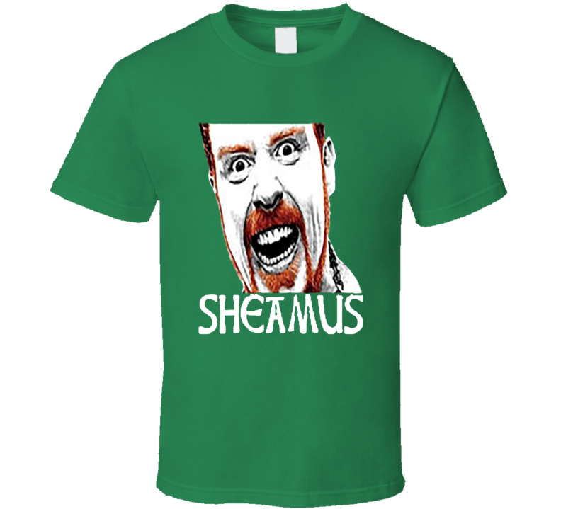 Sheamus Irish Wrestler Champion Ireland T Shirt