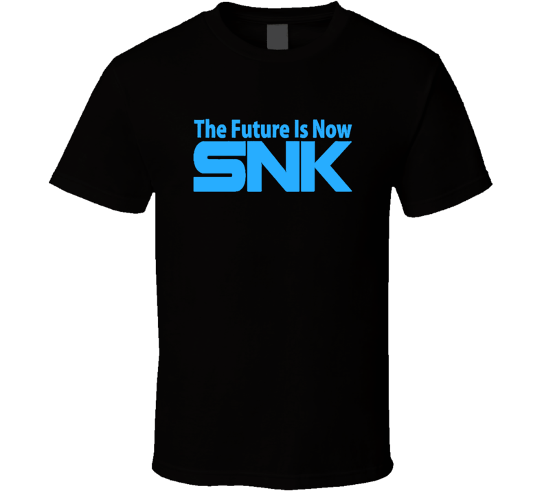 SNK Future Is Now Logo Neo Geo MVS AES T Shirt