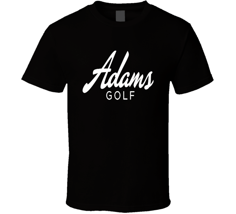 Adams Golf Golfing Dad Son Fathers Day T Shirt