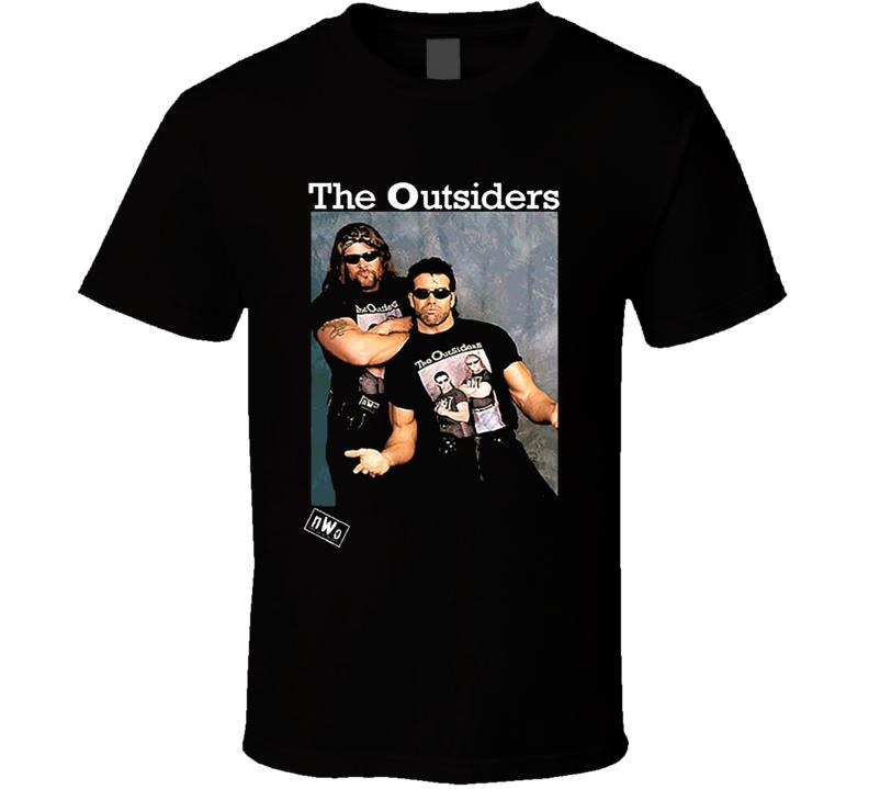 The Outsiders NWO Wrestling T Shirt
