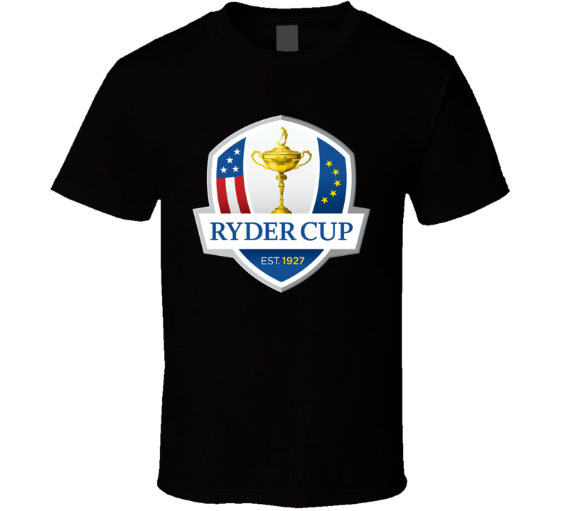 Ryder Cup Golf Golfing Black T Shirt