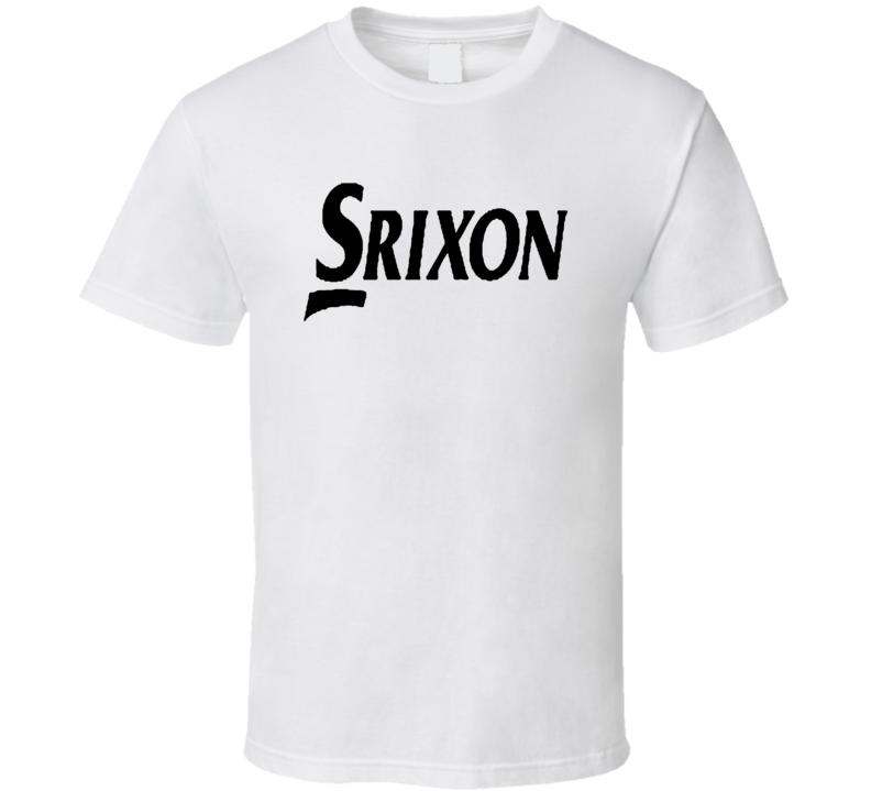 Srixon Golf Black Letters T Shirt