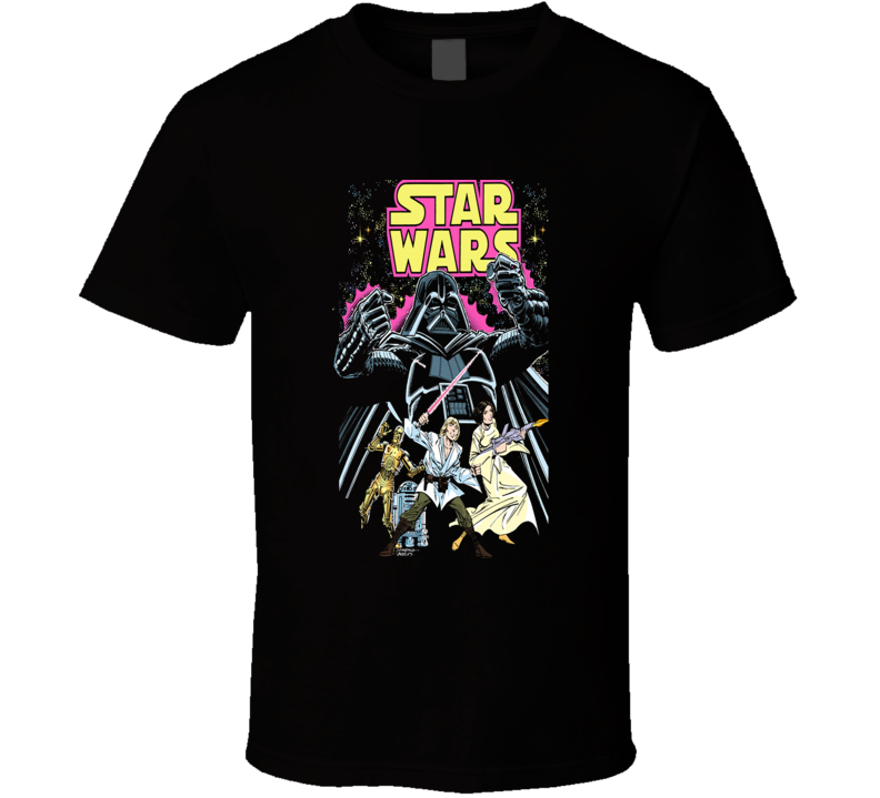 Star wars comic book T Shirt