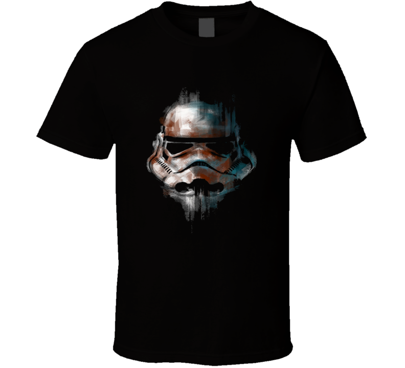 Stormtrooper Helmut Star Wars  T Shirt