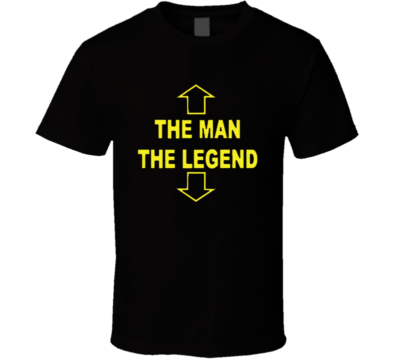 The Man The Legend Funny Humor Retro Adult T Shirt