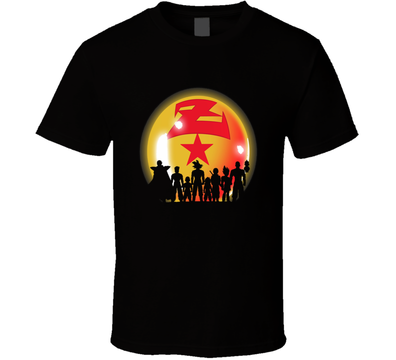 DRAGONBALL Z Warriors T Shirt
