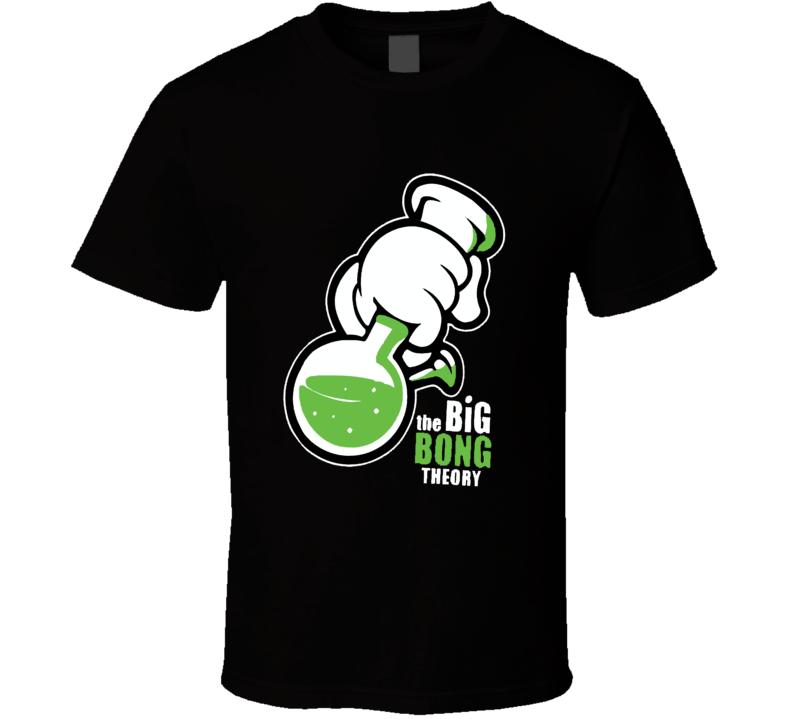 Big Bong Theory Funny Urban Swag OVOXO Joke T Shirt