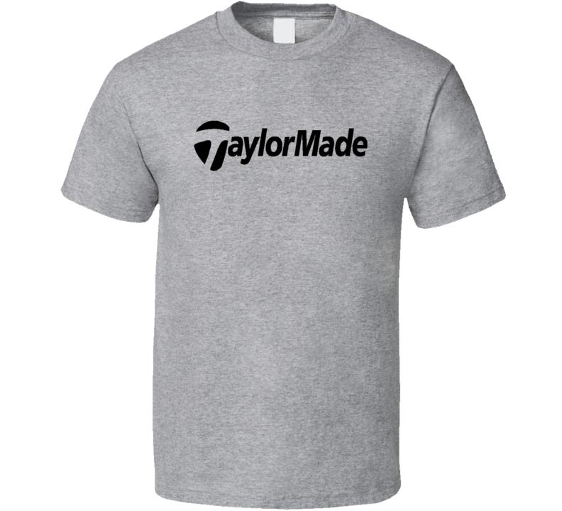 Taylormade taylor made club logo golf Grey T Shirt