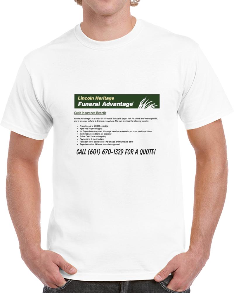 Licoln Heritage Custom Design T Shirt
