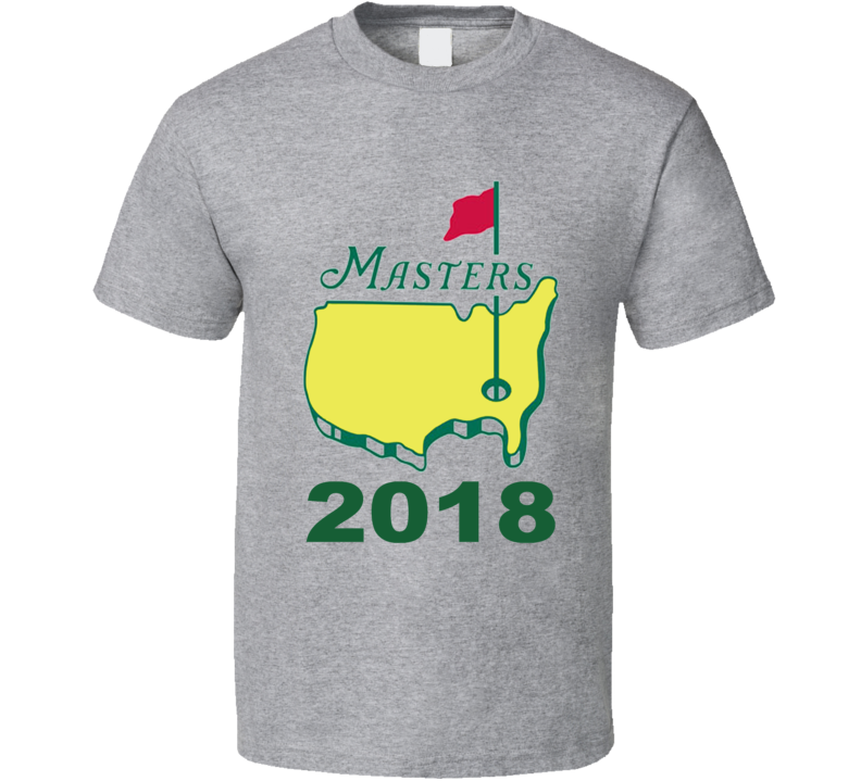 The Masters 2018 Grey T Shirt