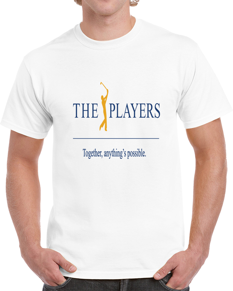 The Players Championship Tpc Pga Sawgrass Mens Golf Together Anything Is Possible T Shirt