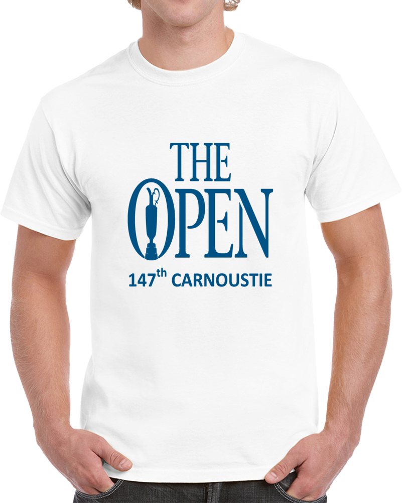 The Open Championship 147th Carnoustie Mens Golf T Shirt