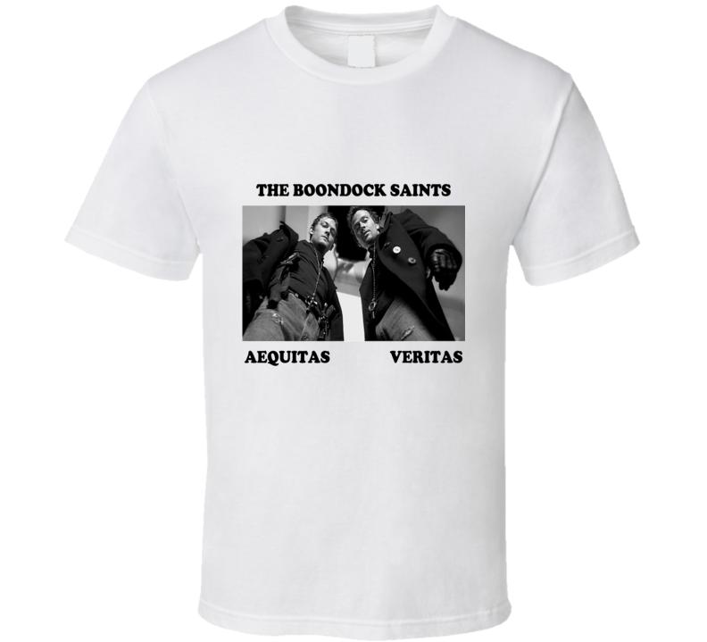 The Boondock Saints Aequitas Varitas T Shirt